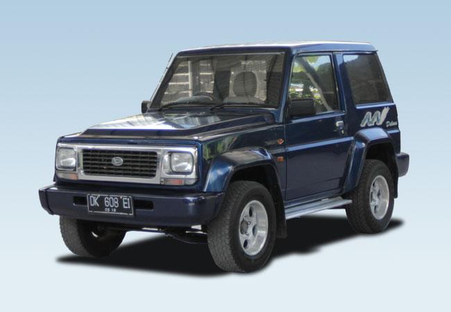 Daihatsu Feroza – Bali Rent Cars