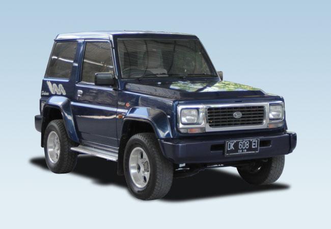 Daihatsu Feroza Bali Rent Cars