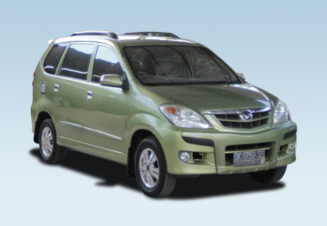 Daihatsu Xenia | Bali Rent Cars